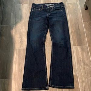 American Eagle Favorite Boyfriend Jean Size 8 Long